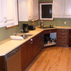 Used Kitchen Countertops Flat Front Cabinets Engineered Stone Wikipedia With Undermount Sink And Cooktop Installed Tops Are Cut Polished At The Fabricator S Shop