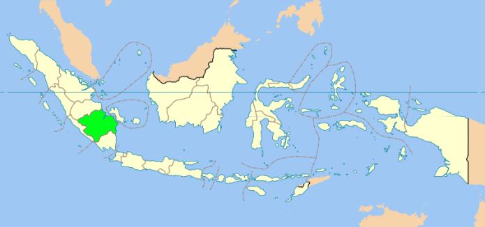 8 Provinsi Terbesar Di Indonesia Menurut Luas Wilayahnya, DKI Jakarta?