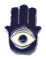 Khamsa (Fatima's hand) used as a pendant {{es|...