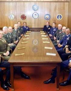 The joint chiefs of staff and several commanders in chief gathered at pentagon on july also wikipedia rh enpedia