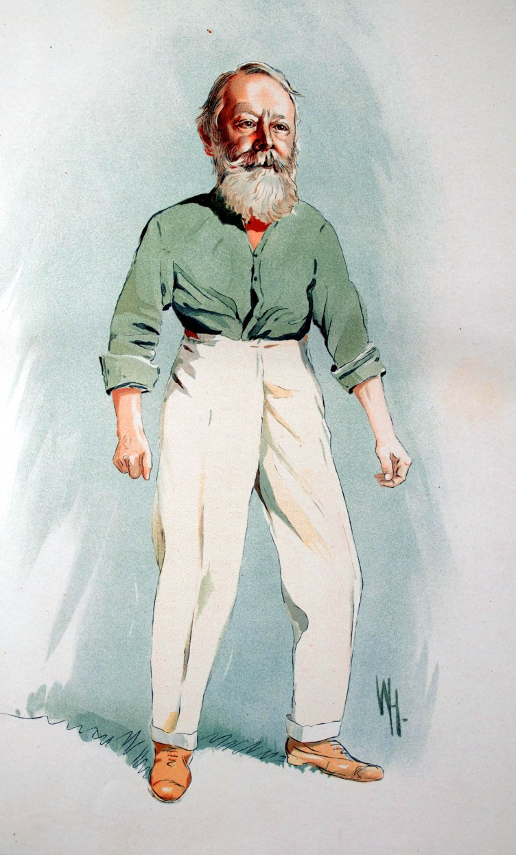 Lord Kinnaird with DAT PANTS AND DAT BEARD