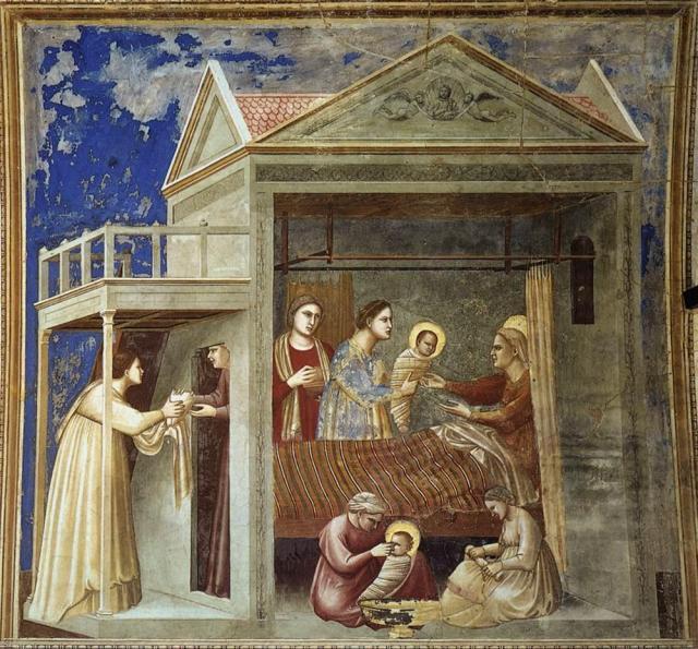 Risultati immagini per natività di maria cappella degli scrovegni
