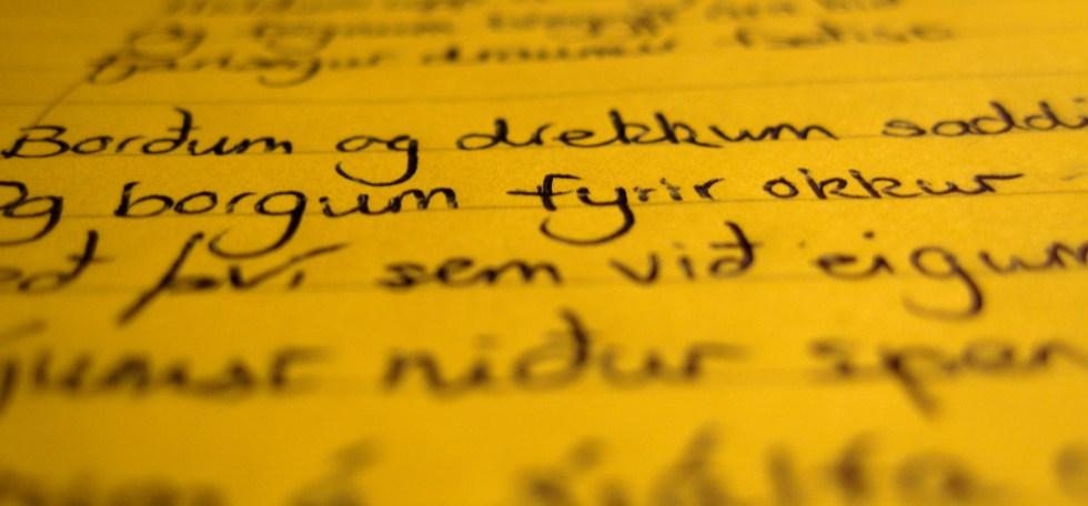 Icelandic script