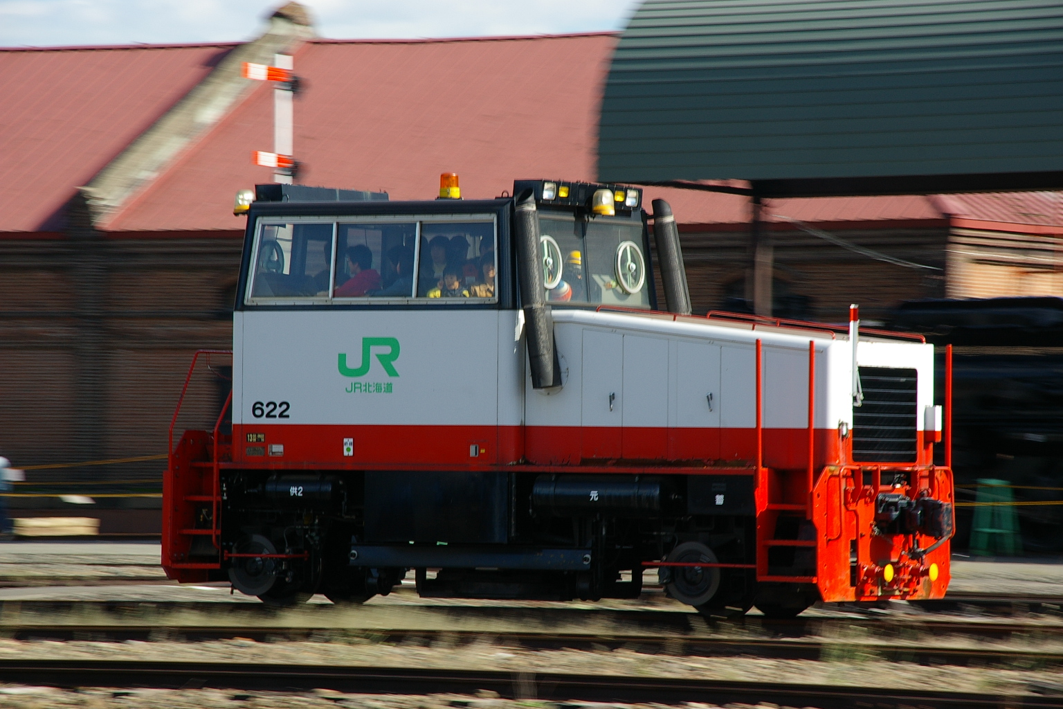 JR北海道DBR600形ディーゼル機関車 - Wikipedia