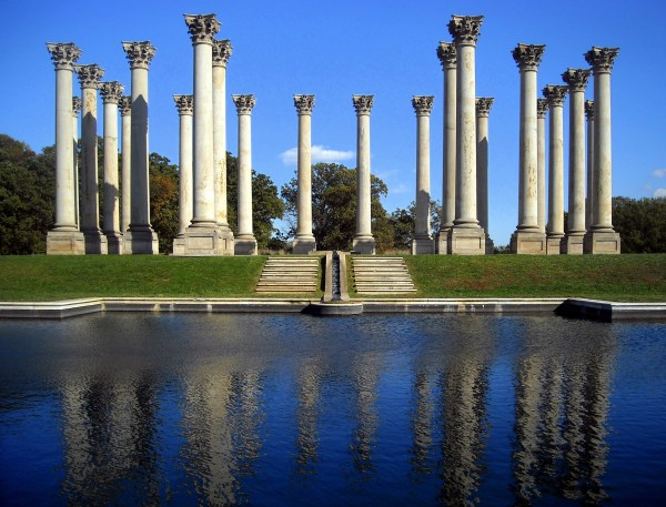 Washington DC National Capitol Columns