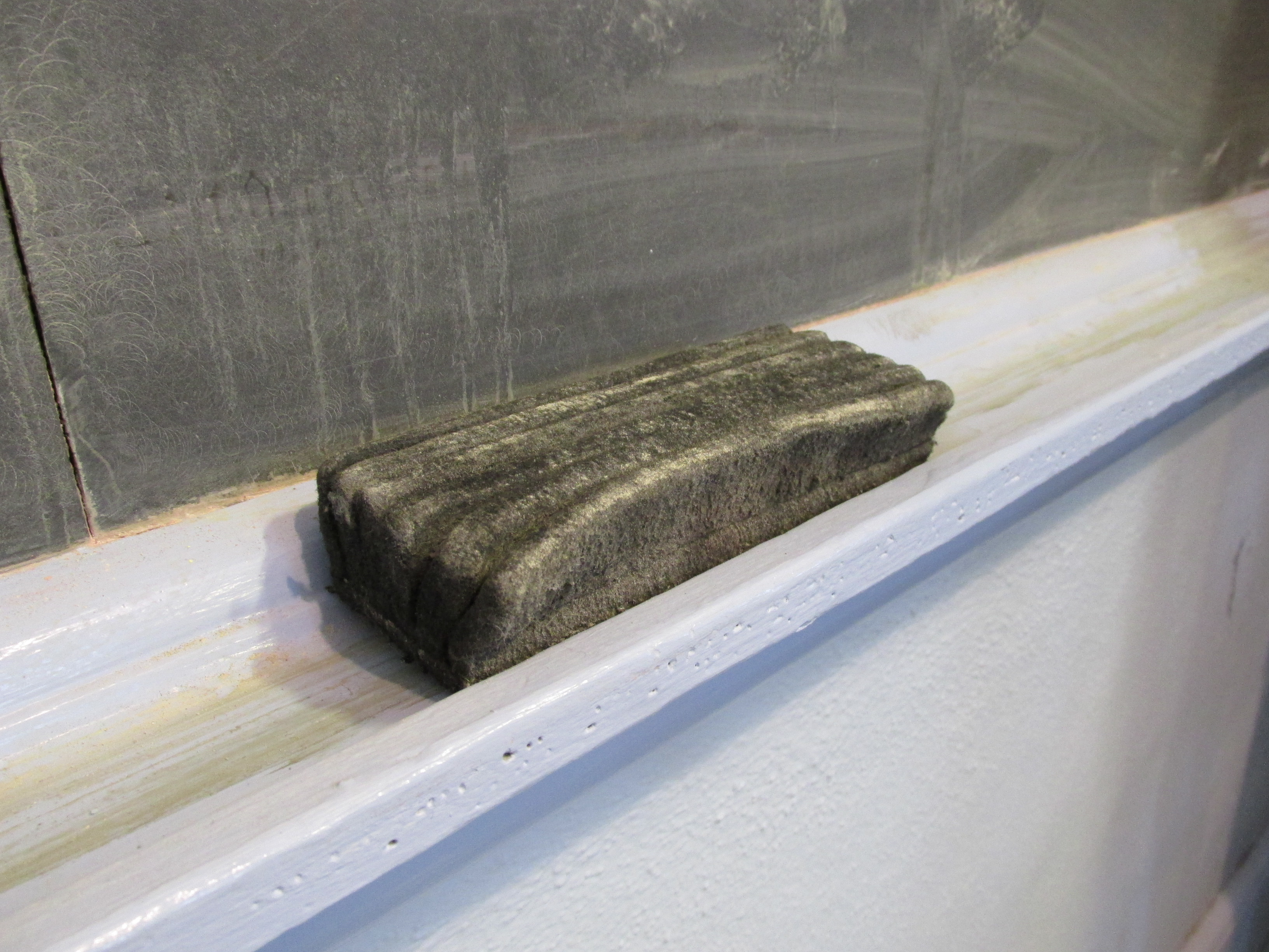 chalkboard eraser wikipedia
