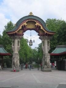 Berlin Zoo Entrance