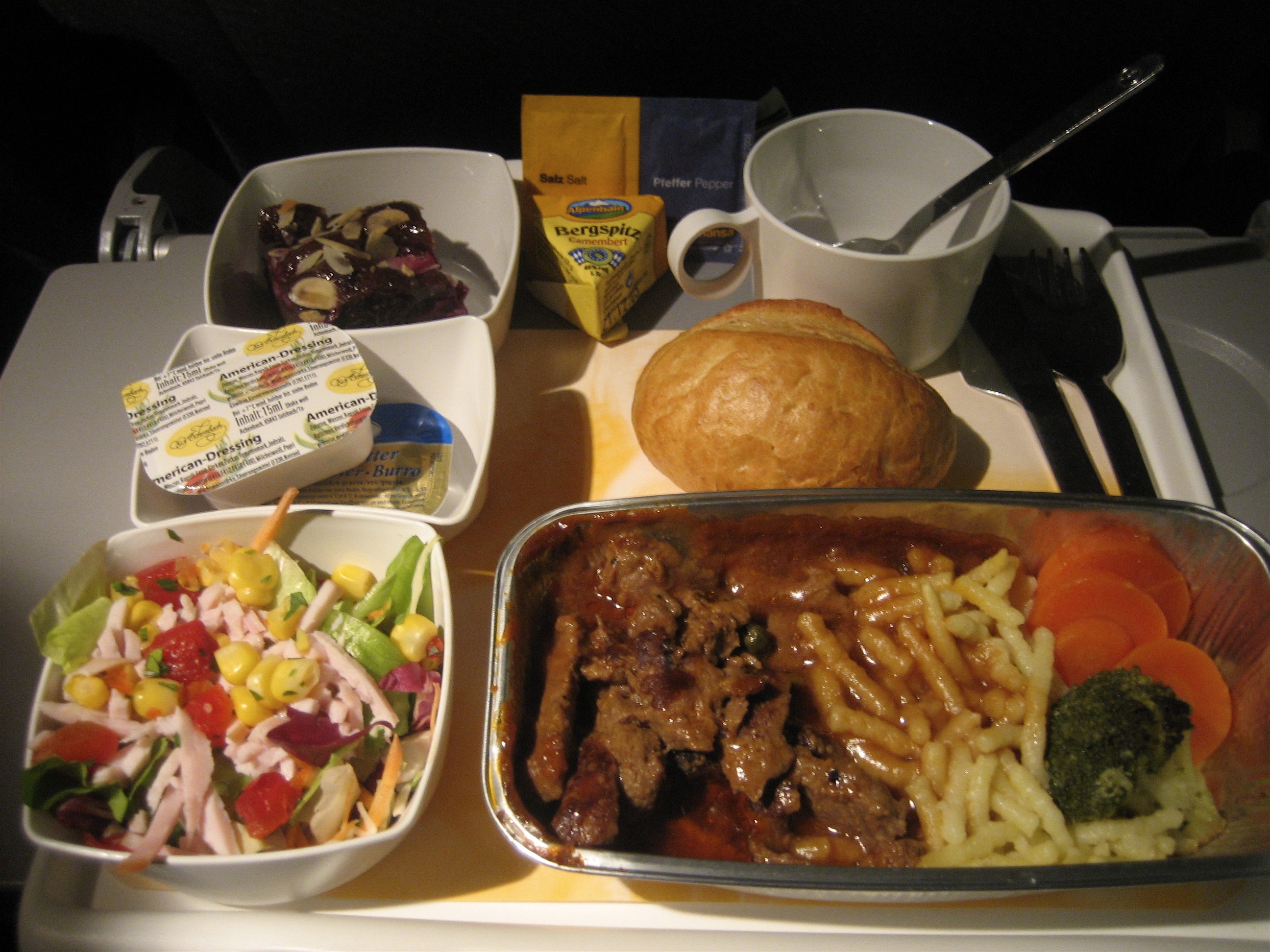 Lufthansa Meal