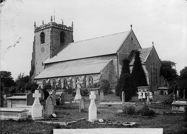 The church, Chirbury (Salop)