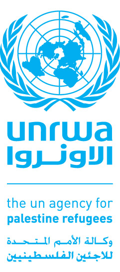 English: UNRWA logo UNRWA logo