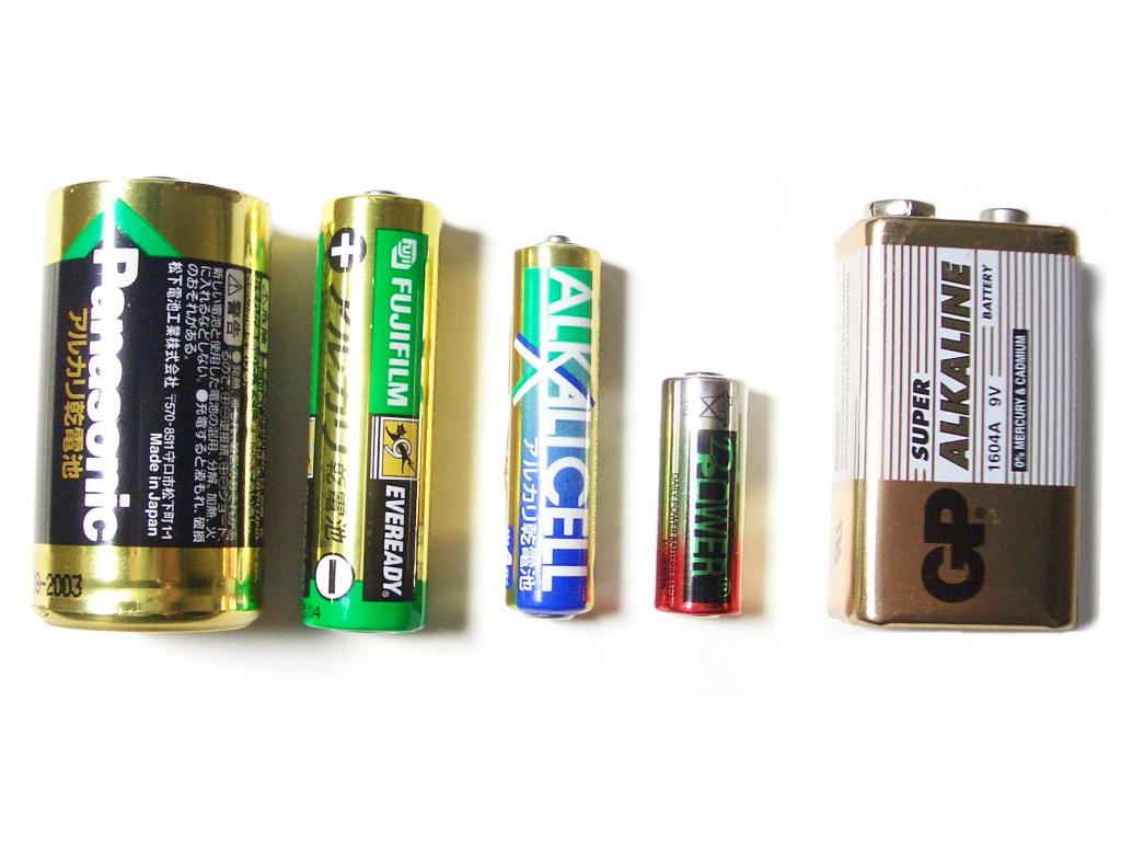 Alkaline battery - Wikipedia