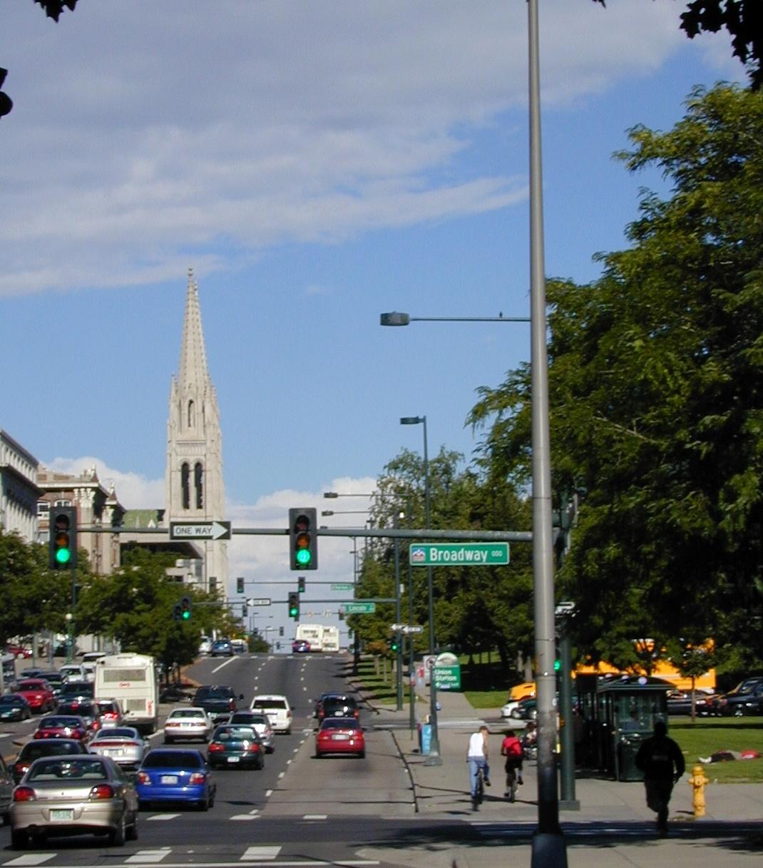 Street system of Denver  Wikipedia