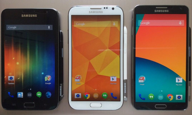 Samsung Galaxy Note Séries