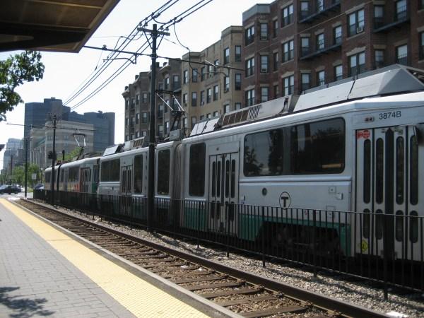 Boston Green Line Train