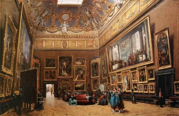 Louvre Salon Carre