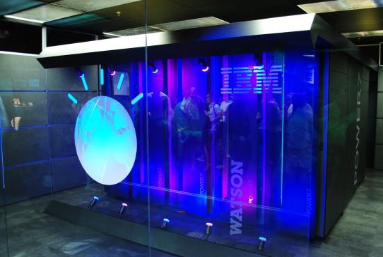 Il supercomputer Watson (wikimedia)