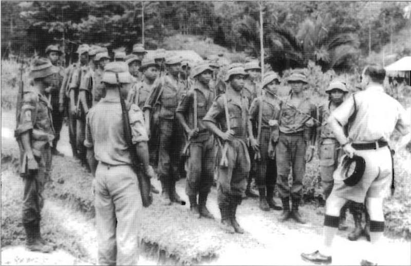 Filemalaysian Border Scouts Comprising Indigenous Peoples Of Borneo Jpg