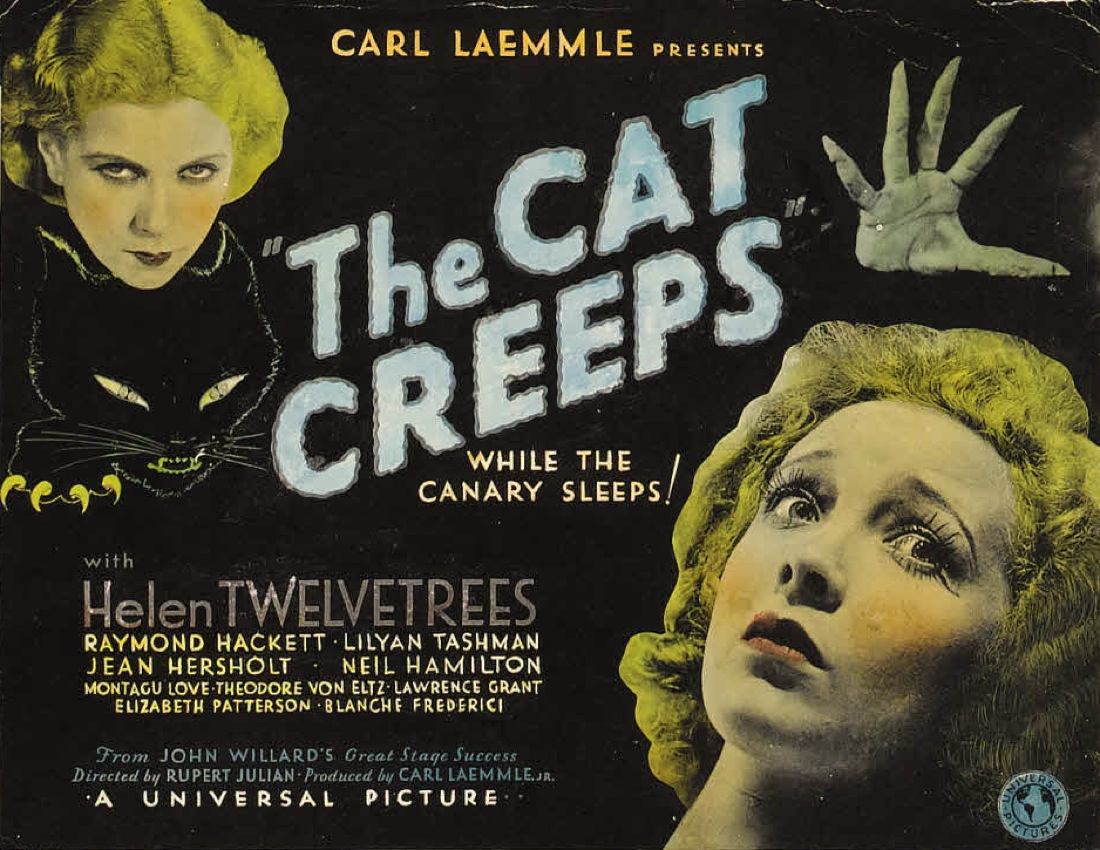 The Cat Creeps Wikipedia