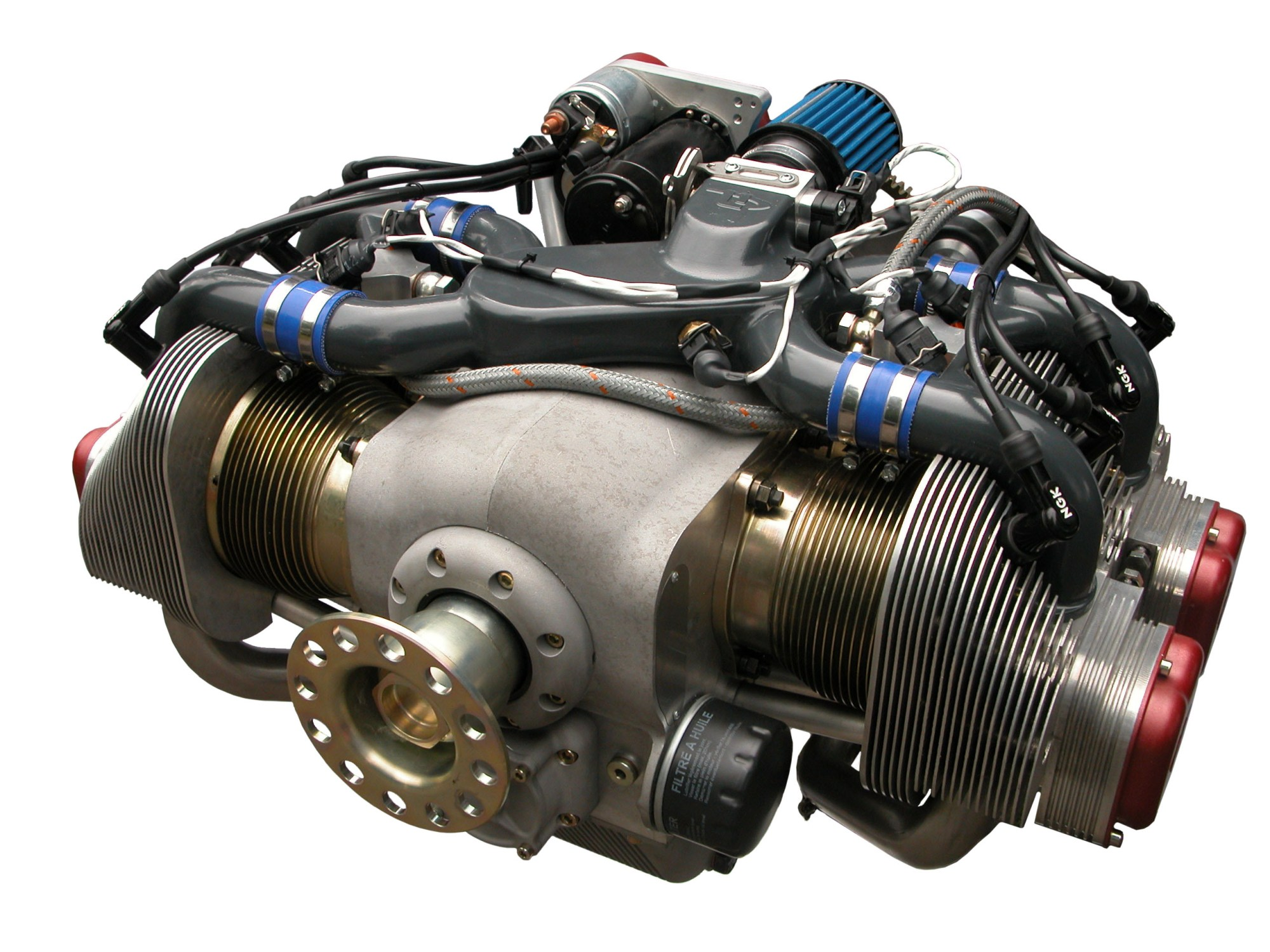 hight resolution of ul260i flat 4 aircraft engine