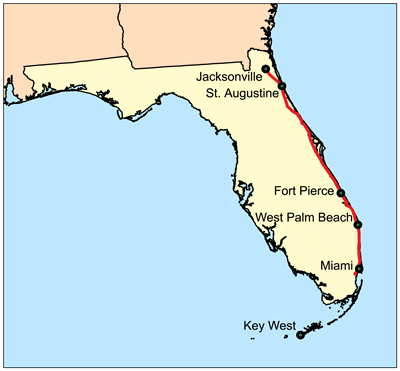 Florida East Coast Railway Wikipedia