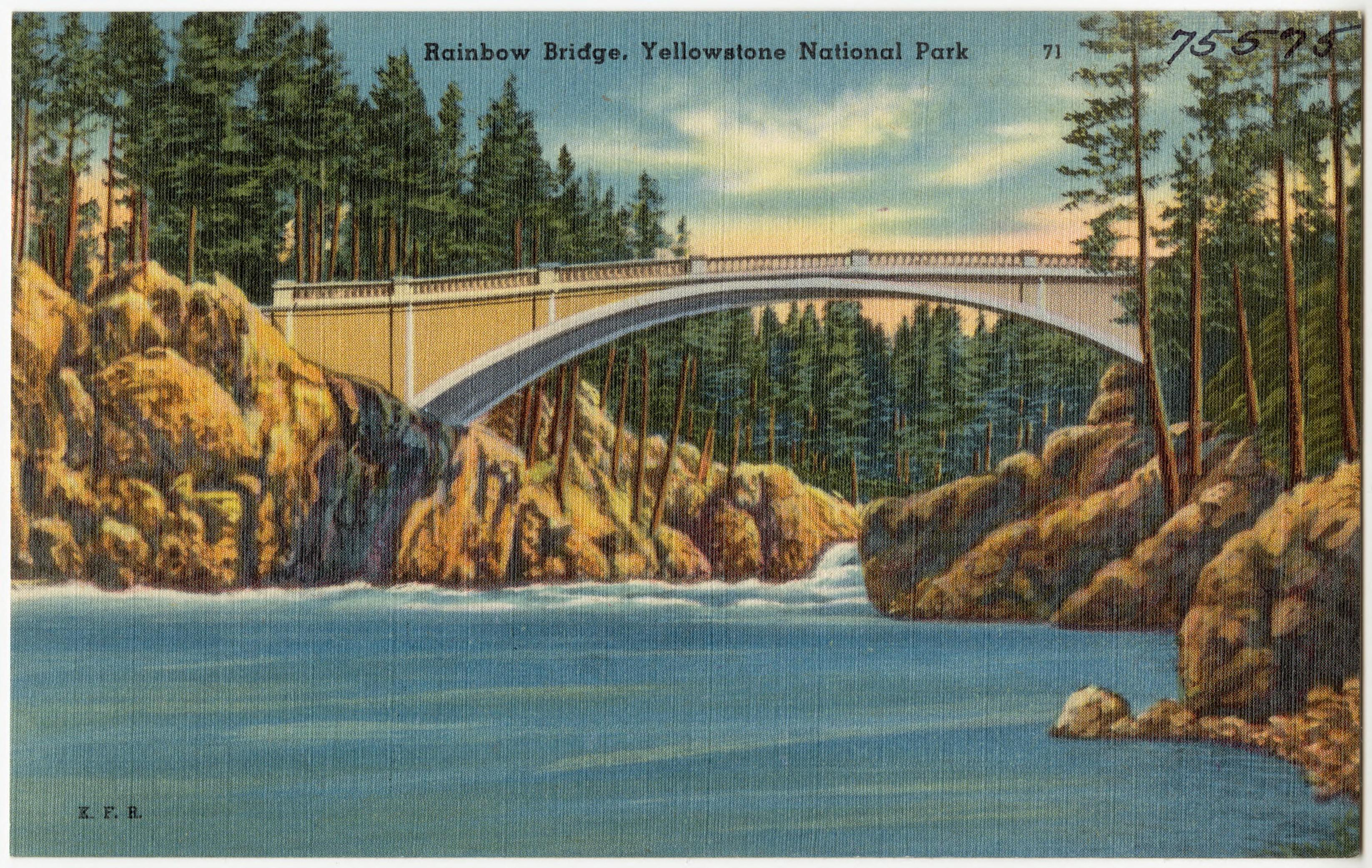 File Rainbow Bridge Yellowstone National Park