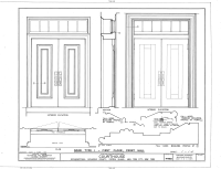 File:Detail, door type, first floor, front hall ...