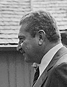 Ezer Weizman, President of Israel 1993-2000, a...