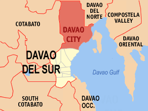 We're leaving Davao