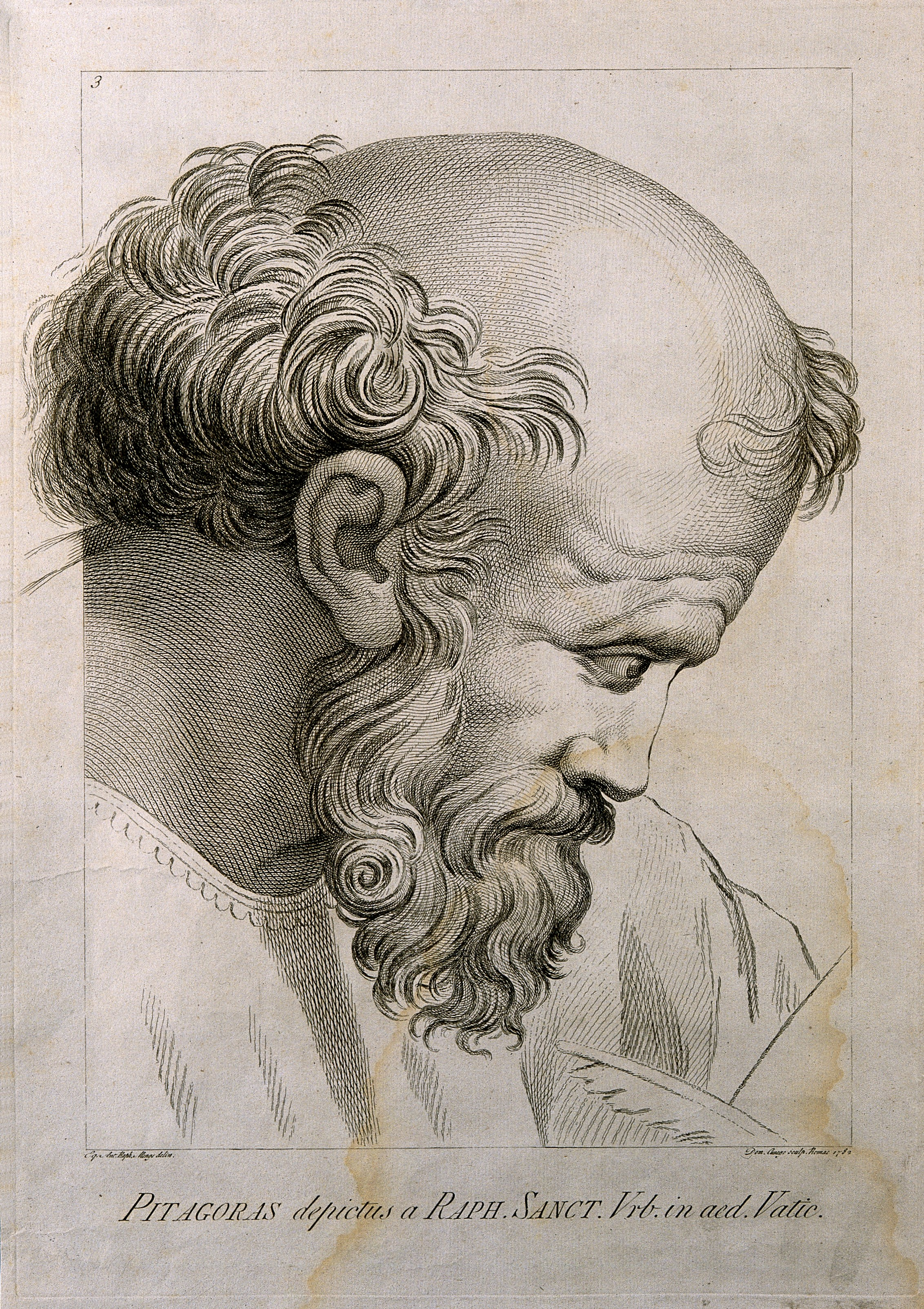 FilePythagoras Line engraving by D Cunego 1782 after