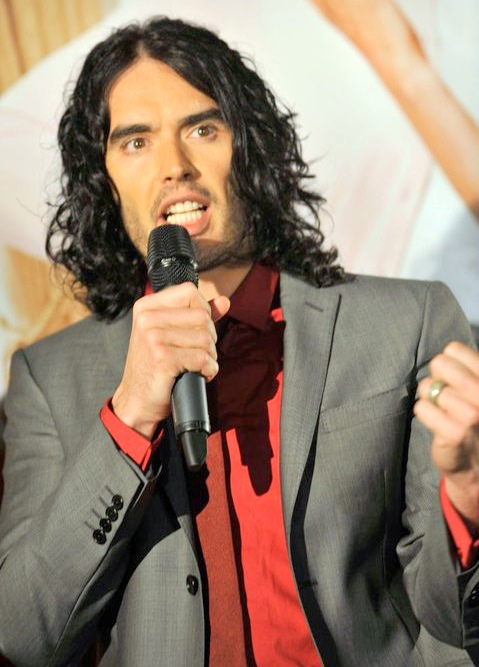 Comedian Russell Brand. Via Wikimedia Commons