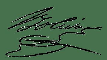 Simón Bolívar signature