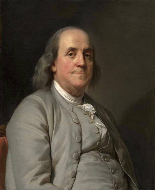 Dans Sa Maison Un Grand Cerf Origine : maison, grand, origine, Benjamin, Franklin, Wikipédia