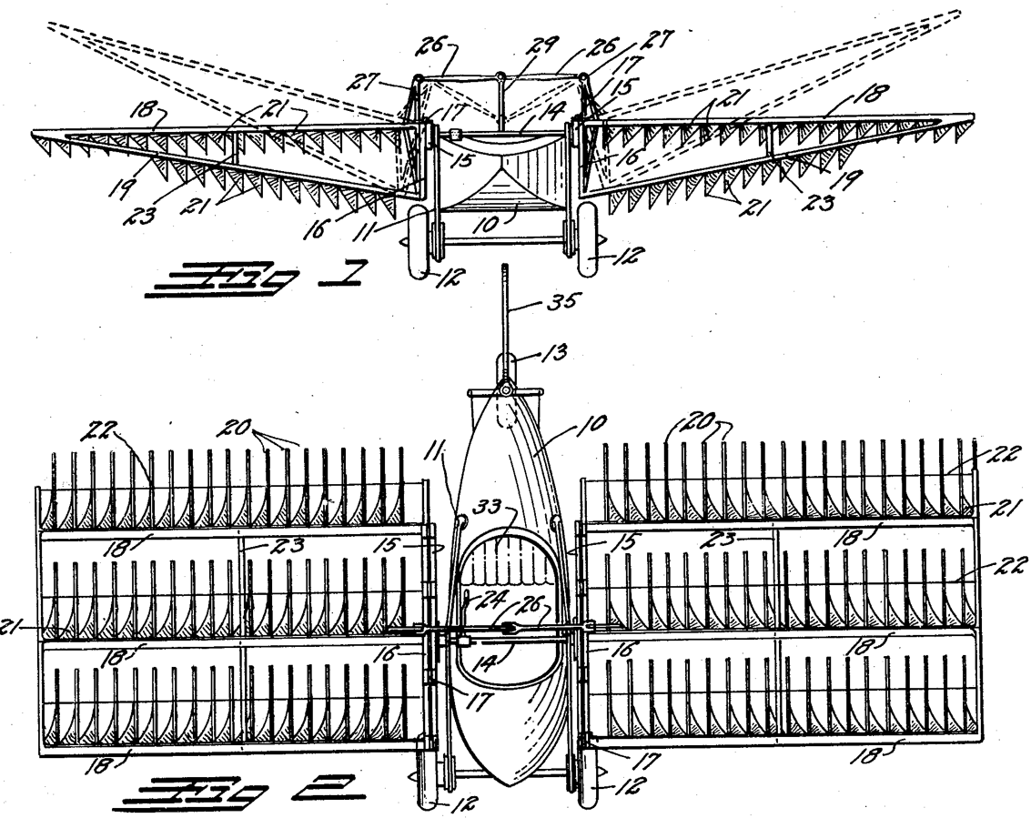File Grey Goose Ornithopter Patent