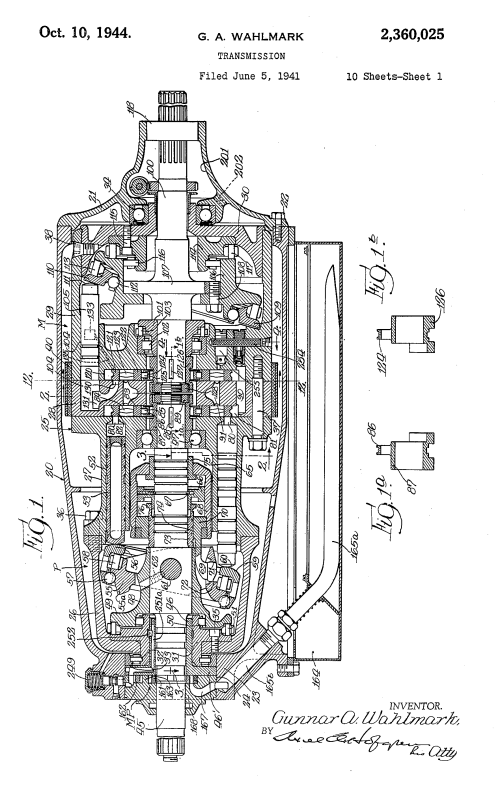 small resolution of fil hydrostatic transmission us2360025 page 1 png