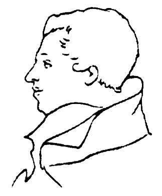 M. Bestuzhev-Rumin. Drawing of A. Ivanovski.
