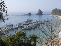 File Pasir Putih Beach Jember East Java