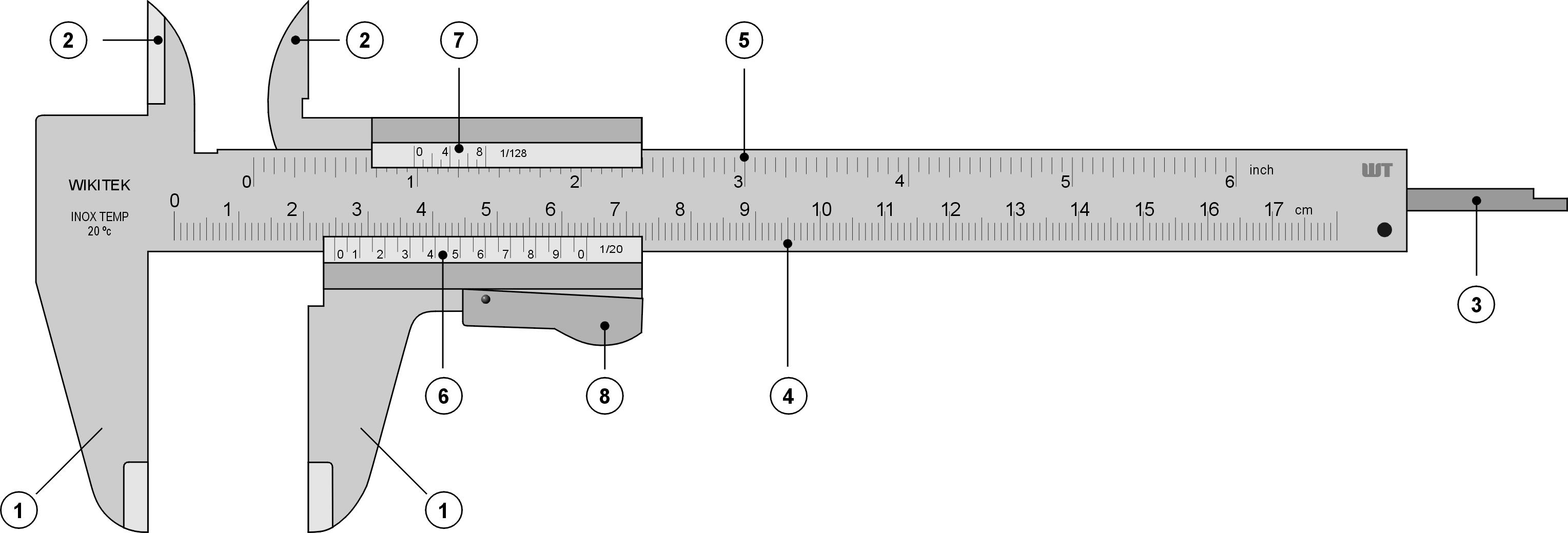 File Vernier Caliper