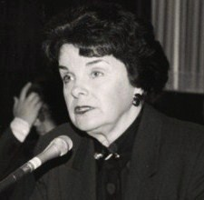English: Dianne Feinstein, U.S. Senator from C...