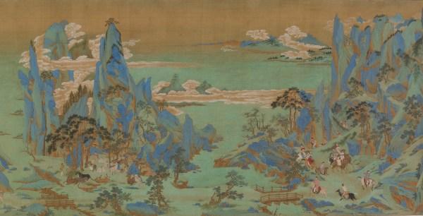 File Emperor Minghuang' Journey Sichuan Freer