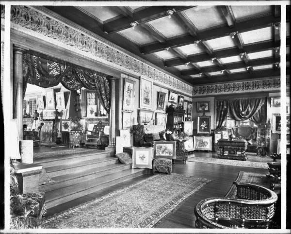 File Interior View Of Art Studio