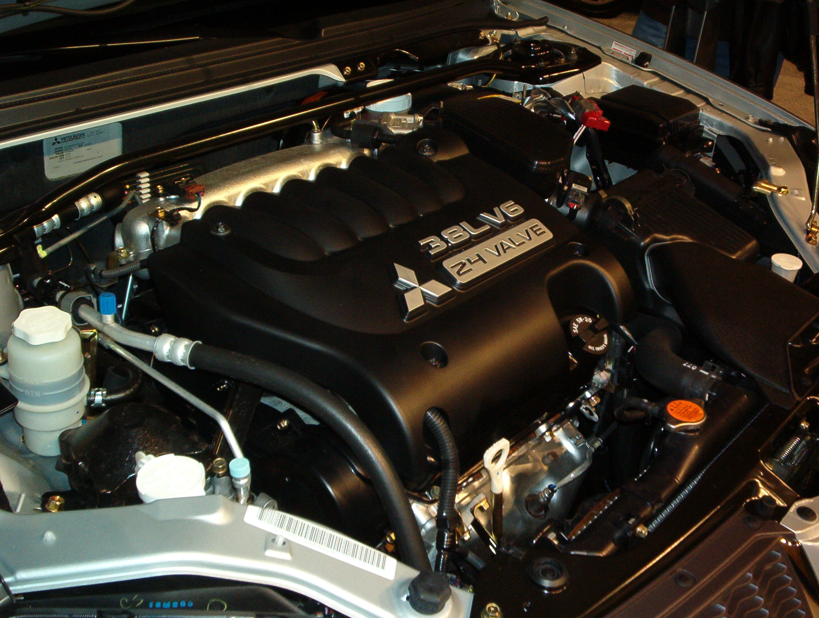 hight resolution of mitsubishi 6g7 engine