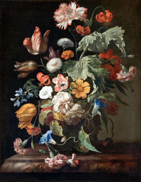 Rachel Ruysch Still Life with Flowers