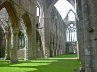 Tintern Abbey's Carpet of Grass [2048x1536] : AbandonedPorn