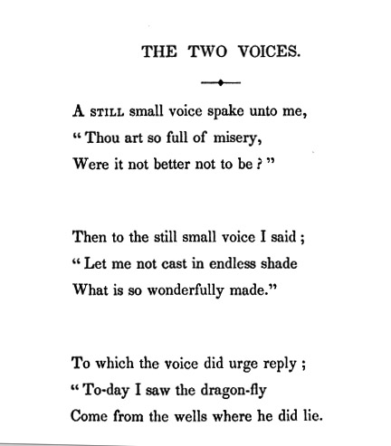 The Two Voices Wikipedia