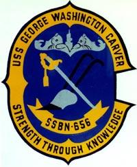 Insignia of the USS George Washington Carver, ...