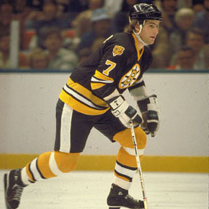English: Boston Bruins' defenseman Ray Bourque...