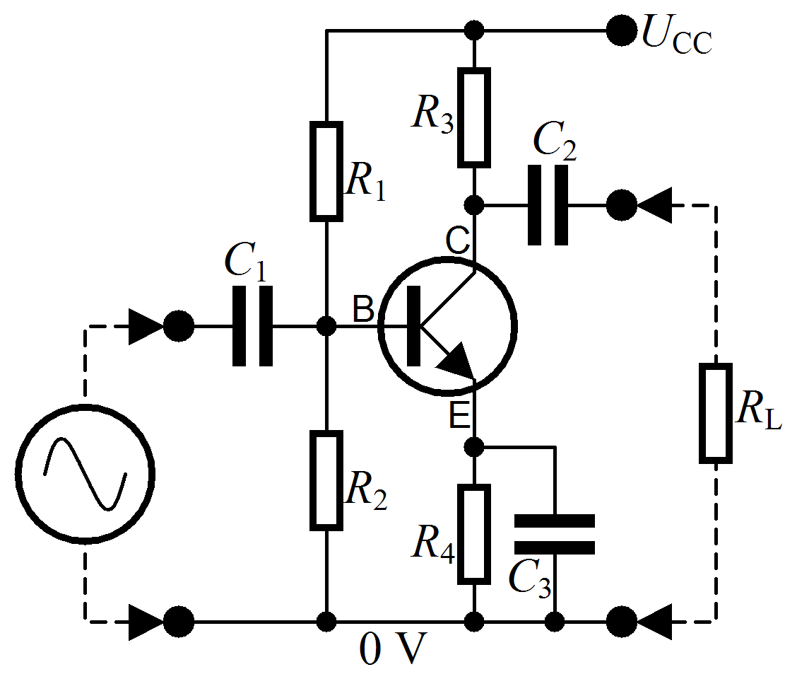 How to calculate BJT NPN transistor using beta?