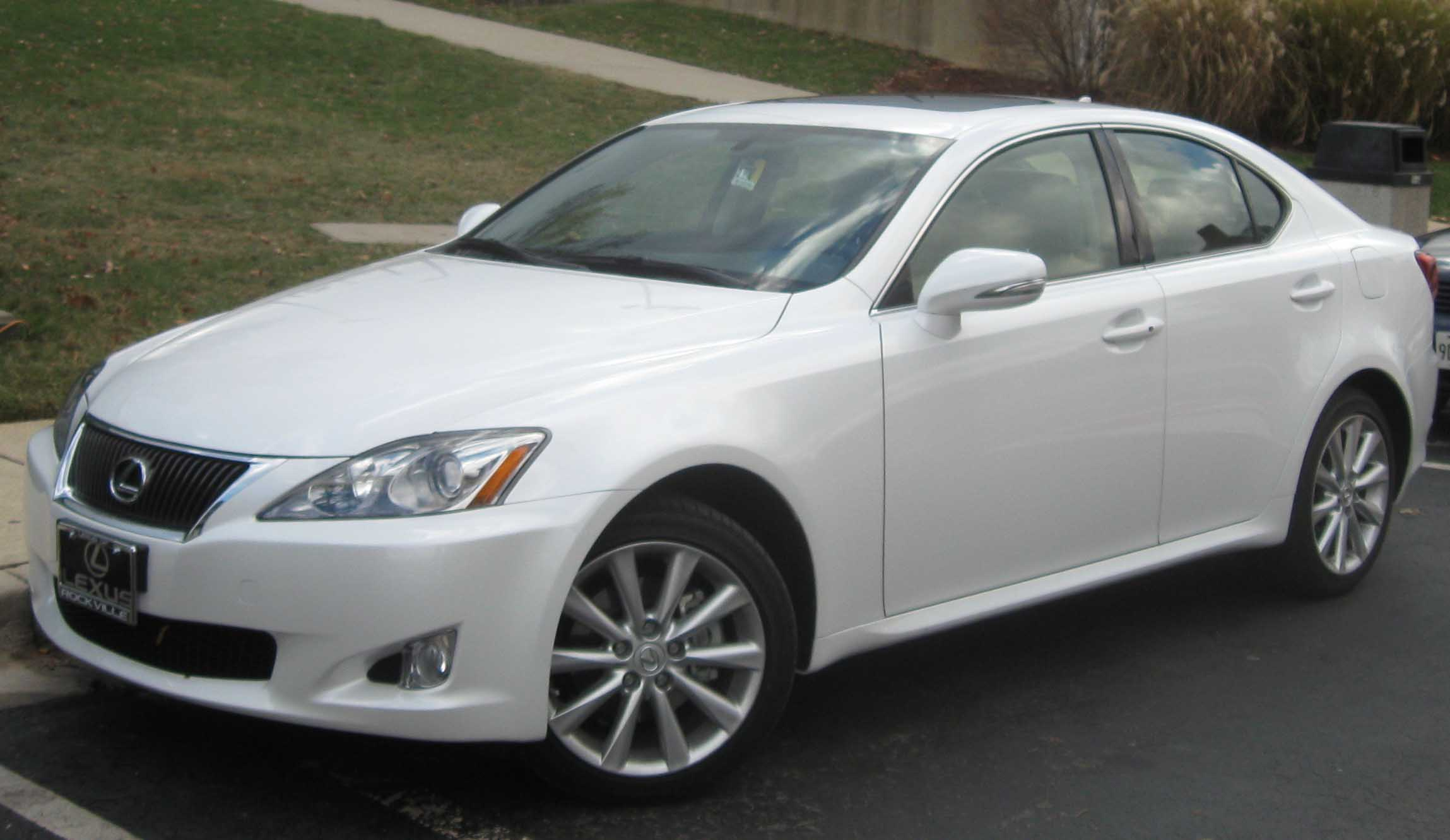 File Lexus IS250 AWD Wikimedia mons