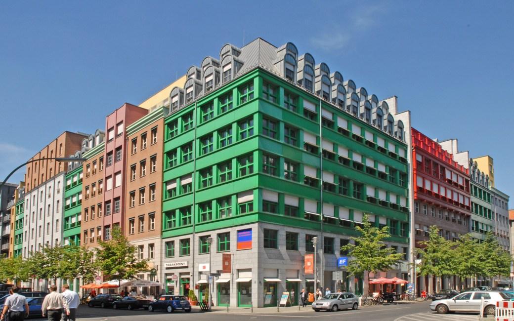 Schützenstrasse Quartier by Aldo Rossi
