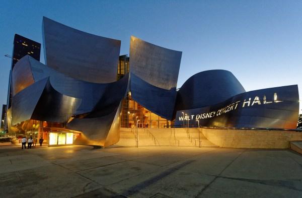 File Walt Disney Concert Hall Sunset June